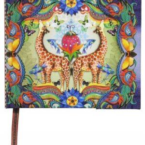 Boncahier - Into The Wild - Notatnik z Żyrafami - Lunula Dream Shop