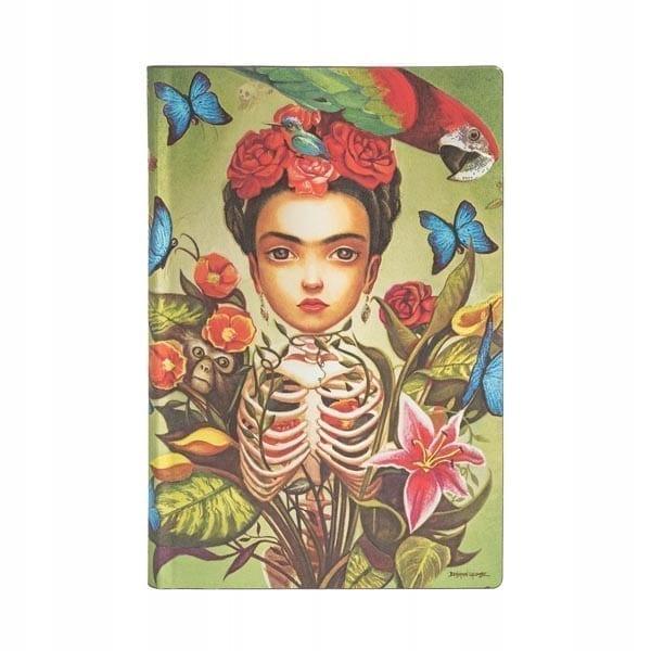 Paperblanks - Notatnik - Frida flexi ultra 176 str - Lunula Dream Shop