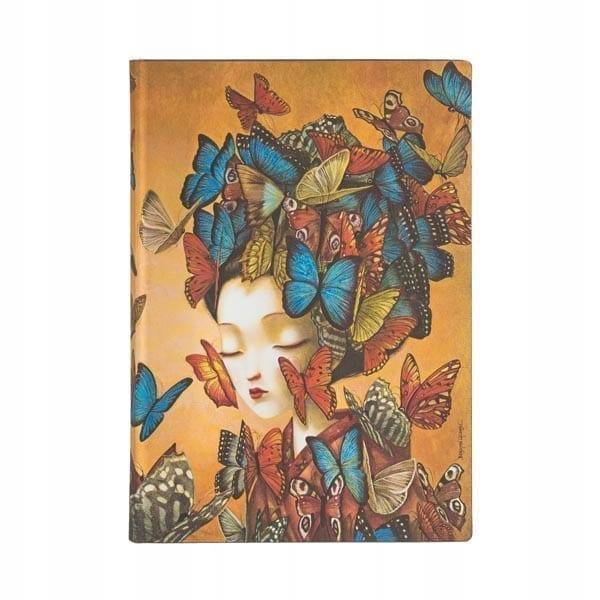 Paperblanks - Notatnik - Madame Butterfly midi - Lunula Dream Shop