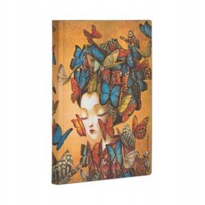 Paperblanks - Notatnik - Madame Butterfly mini - Lunula Dream Shop