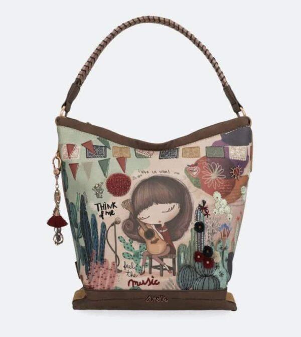 Anekke Ixchel Music- duża torba - 32710-02-125 - Lunula Dream Shop