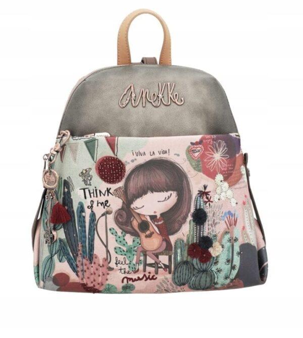 Anekke Ixchel Music- plecak - Nowa kolekcja wiosna - Lunula Dream Shop