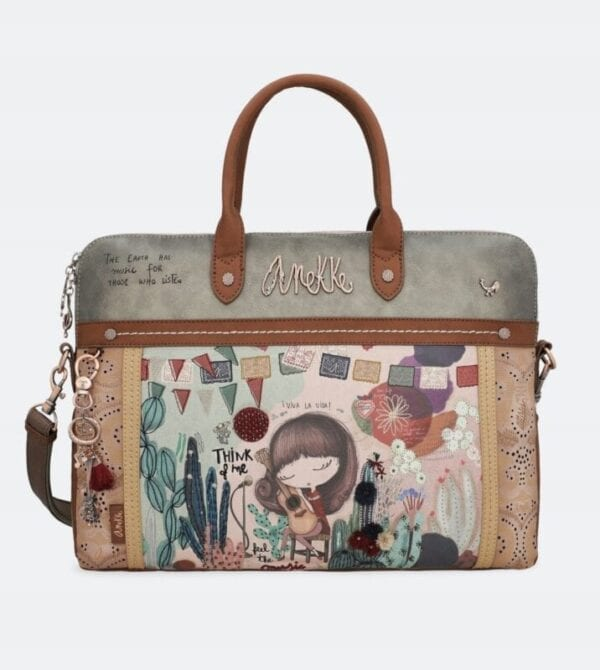 Anekke Ixchel Music- torba laptop -nowość wiosna - Lunula Dream Shop