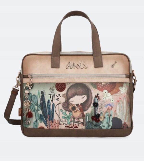 Anekke Ixchel Music- torba na laptop -32710-06-113 - Lunula Dream Shop