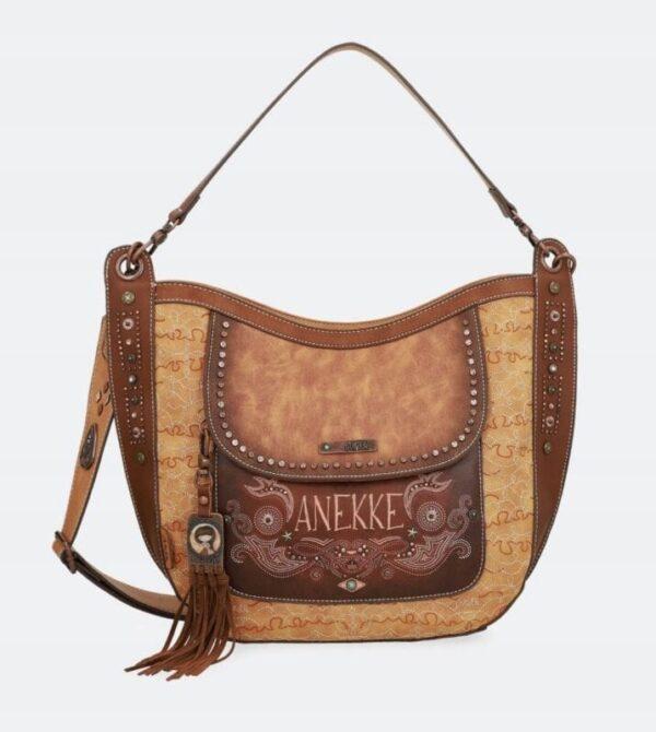 Anekke Arizona - westernowa hobo torebka z paskiem - Lunula Dream Shop