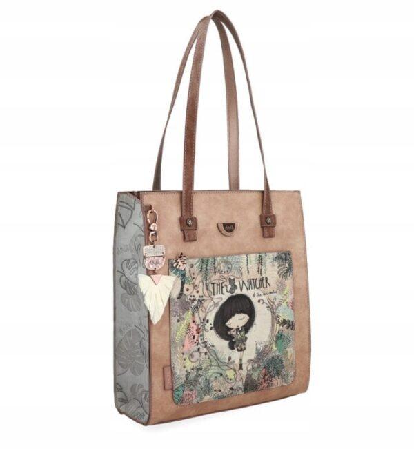 Anekke Jungle - duża torebka damska na ramię - Lunula Dream Shop