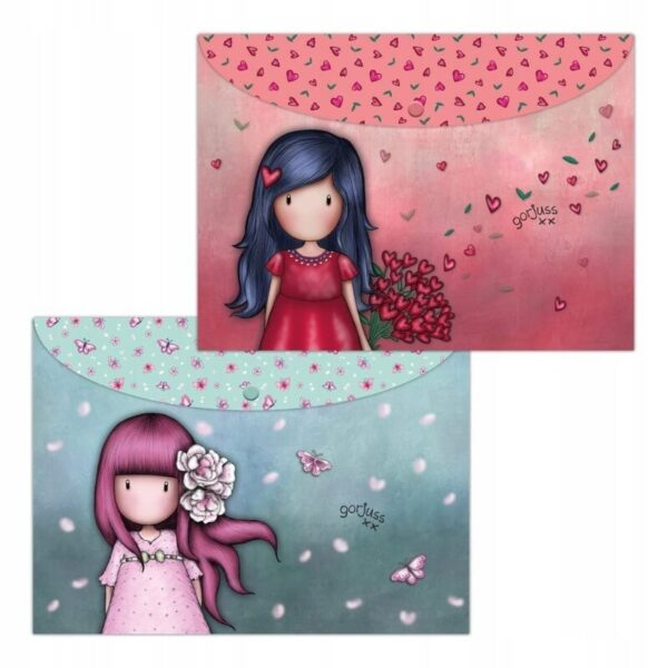 Santoro - Gorjuss Sparkle Bloom- 2 teczki A4 - Lunula Dream Shop