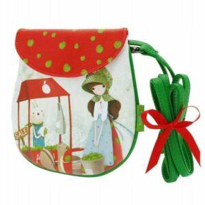 Santoro - Kori Kumi - An Apple A Day- mała torebka - Lunula Dream Shop