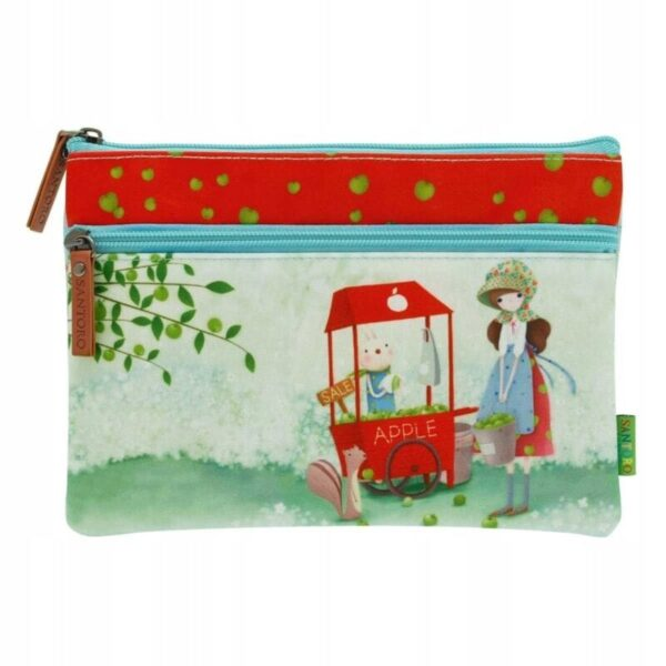 Santoro -Kori Kumi -An Apple A Day - saszetka - Lunula Dream Shop