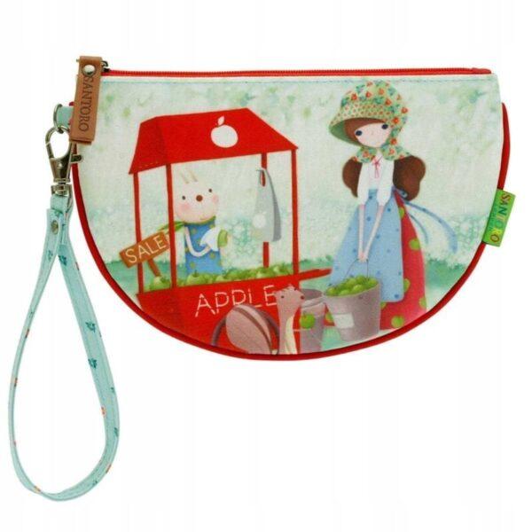 Santoro -Kori Kumi - An Apple A Day - saszetka - Lunula Dream Shop