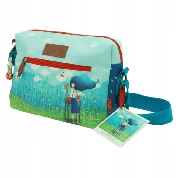 Santoro - Kori Kumi -Beyond Sea- torba z nadrukiem - Lunula Dream Shop