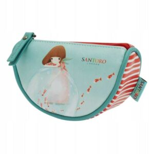 Santoro - Kori Kumi - Little Fishes- duży piórnik - Lunula Dream Shop
