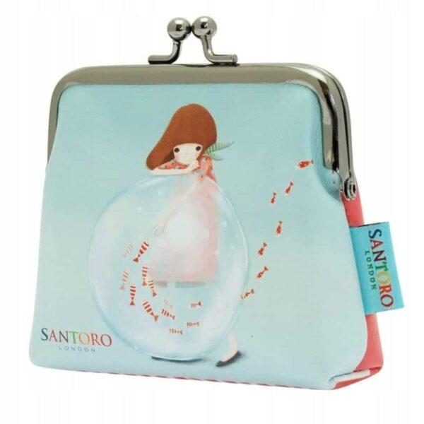 Santoro - Kori Kumi -LittleFishes - portmonetka - Lunula Dream Shop