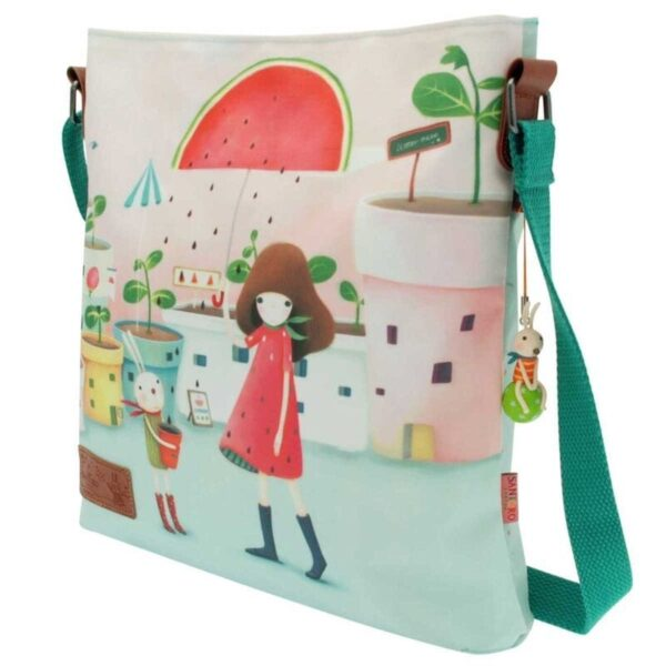 Santoro - Kori Kumi -Melon Showers - torba na skos - Lunula Dream Shop