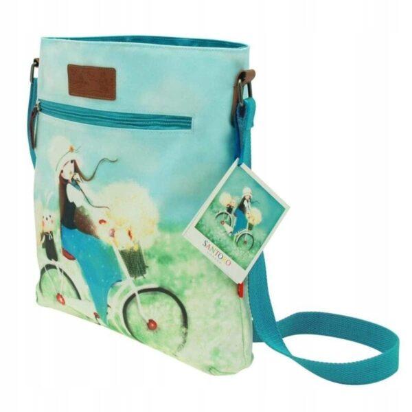 Santoro -Kori Kumi -Summertime - torba z nadrukiem - Lunula Dream Shop