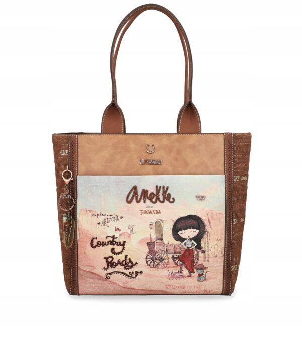 Anekke Arizona - duża torba z kowbojką 86 - Lunula Dream Shop