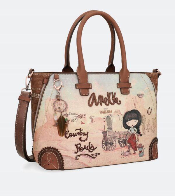 Anekke Arizona - duża torebka z kowbojką 03 - Lunula Dream Shop
