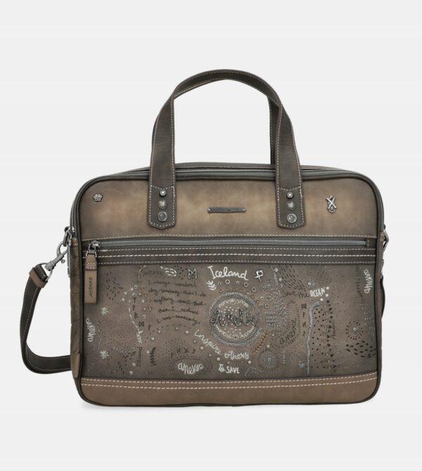 Anekke Iceland Rune - zima 2021- torba na laptop - Lunula Dream Shop