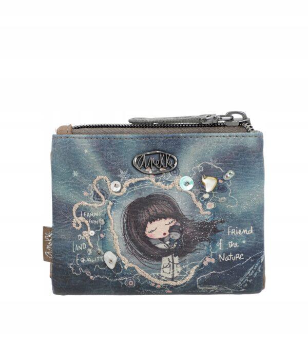 Anekke Iceland -zima 2021- portfel mini - Lunula Dream Shop