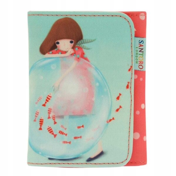 Santoro - Kori Kumi -LittleFishes- mały portfel - Lunula Dream Shop