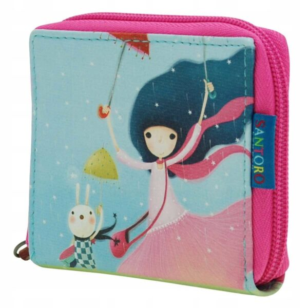 Santoro - Kori Kumi -UnderMyUmbrella- mały portfel - Lunula Dream Shop