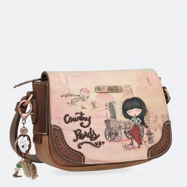 Anekke Arizona - torebka listonoszka z kowbojką - Lunula Dream Shop