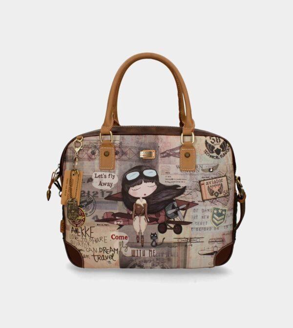 Anekke Aviator - unikatowa torba na laptop JEDYNA! - Lunula Dream Shop