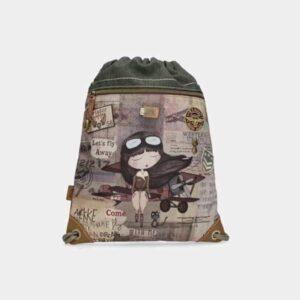 Anekke Aviator - unikatowy plecak worek JEDYNY - Lunula Dream Shop