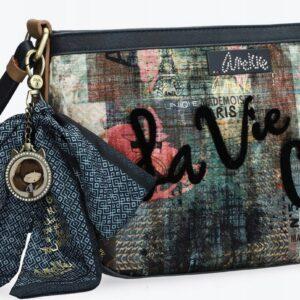Anekke Couture -aksamitna elegancka torebka kokard - Lunula Dream Shop