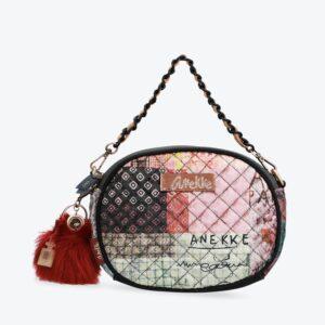 Anekke Couture - aksamitna okrągła torebka UNIkAT - Lunula Dream Shop