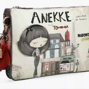 Anekke Couture - torebka z aksamitnym paskiem - Lunula Dream Shop