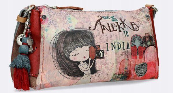 Anekke India - pojemna torebka na ramię UNIKAT! - Lunula Dream Shop