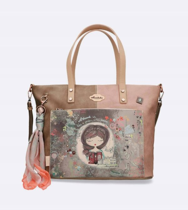 Anekke Jane - duża torebka na ramię do ręki JEDYNA - Lunula Dream Shop