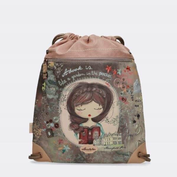 Anekke Jane - pastelowy plecak worek UNIKAT! - Lunula Dream Shop