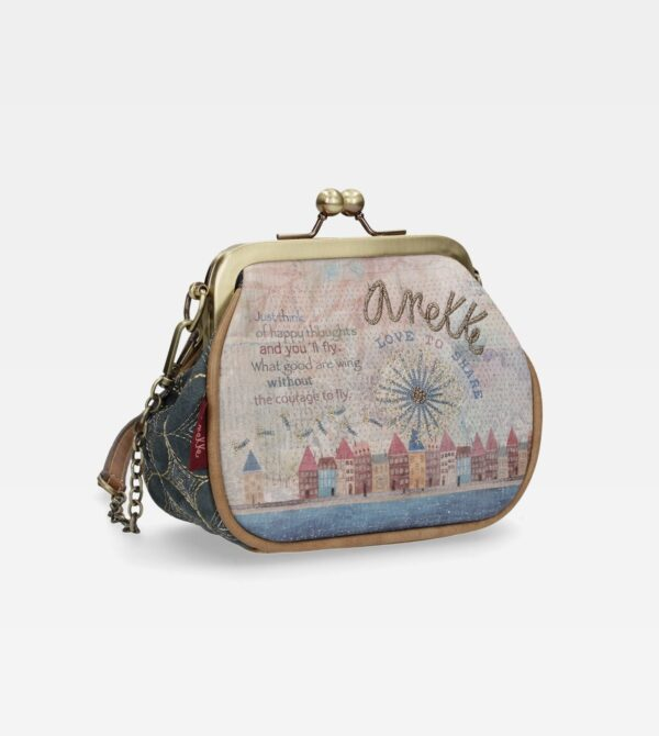 Anekke Liberty - śliczna wizytowa torebka UNIKAT! - Lunula Dream Shop