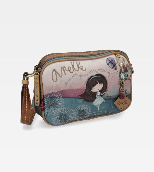 Anekke Liberty - zgrabna torebka na ramię UNIKAT - Lunula Dream Shop